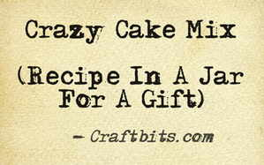 Crazy Cake Mix