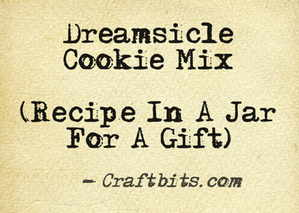 Dreamsicle Cookie Mix