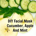 Facial Mask - Cucumber, Apple And Mint