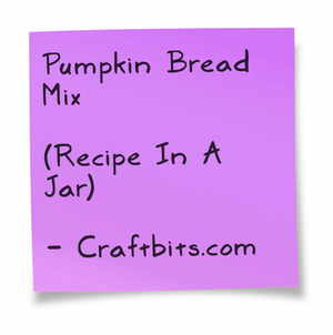 Pumpkin Bread Mix