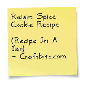 Raisin Spice Cookie Recipe