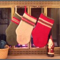 Christmas craft felted stockings