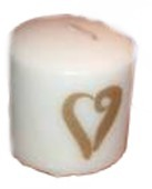 Tissue Paper Candle