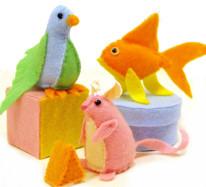 Cat Toy Plushies