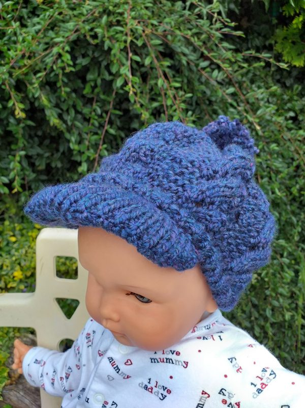 Newsboy Peak Cap Pattern