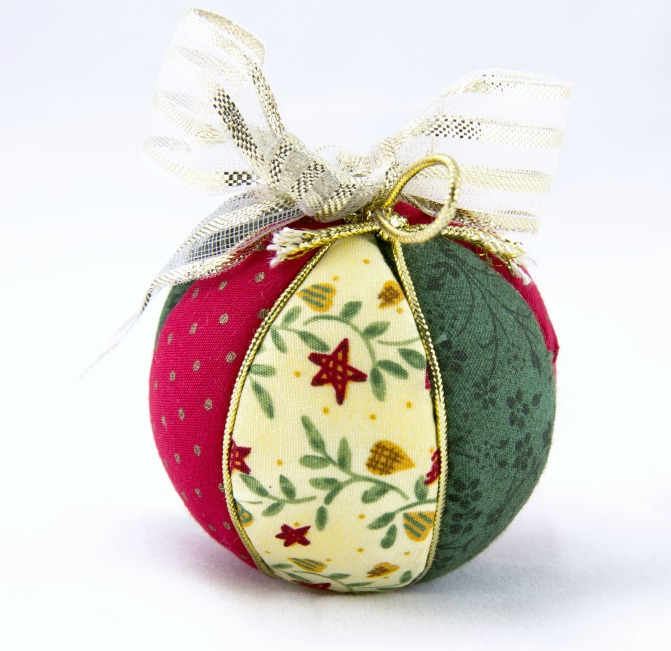 Fabric Pieced Ornament