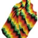 Zig Zag Crochet Picnic Rug