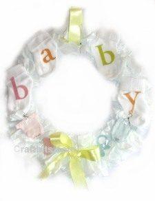 Baby Shower – Room Wreath