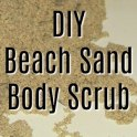 DIY Beach Sand Scrub