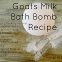 Bath Bomb - Goats Milk
