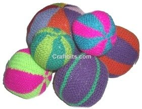 Medium Knitted Ball