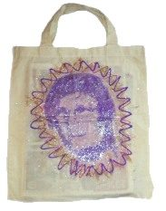 Reversible Stenciled Tote