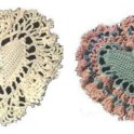 Heart Pillow In Crochet