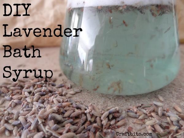 Bath Syrup – Lavender
