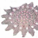 Rose Centerpiece Crochet Pattern