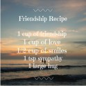 Friendship Food Gift Poem