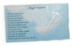 Angel Feather Gift Poem