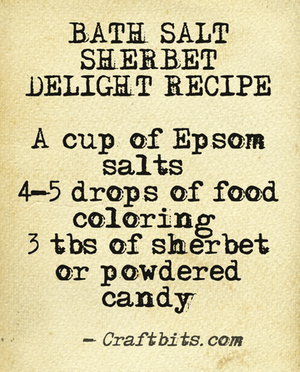 Bath Salt – Sherbet Delight