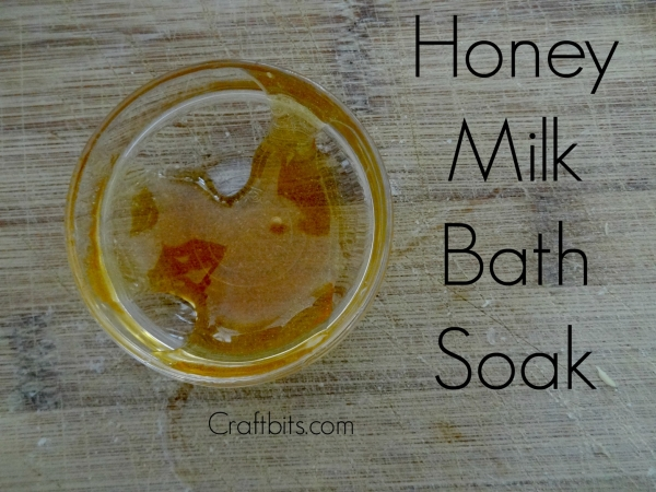 Honey Milk Bath Soak