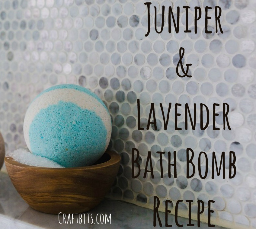 Bath Bombs – Juniper & Lavender