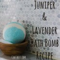 Bath Bombs - Juniper & Lavender