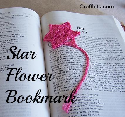 Star Flower Bookmark