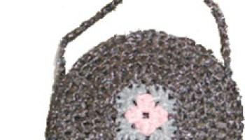 Recycled Crochet Plastic Bag Purse — CraftBits com