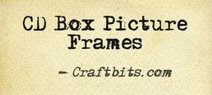 CD Box Picture Frames