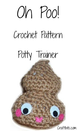 Amigurumi Crochet Pattern – Oh Poo!