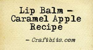 Lip Balm – Caramel Apple
