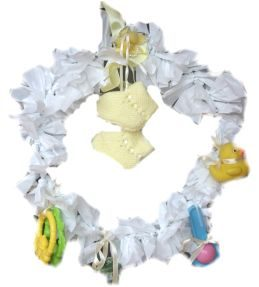 Baby Shower – Announcement Wreath