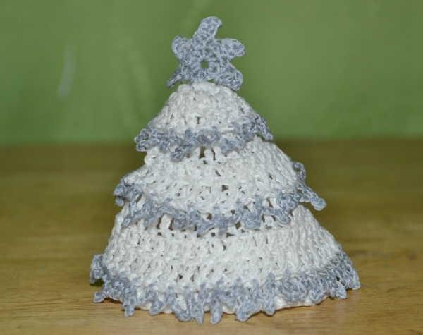 Puffy Christmas Tree Crochet
