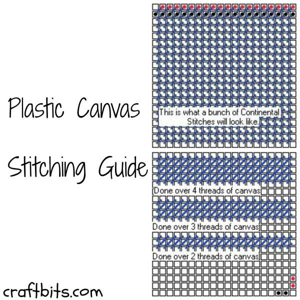 Plastic Canvas Stitching Guide