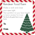 Magic Reindeer Food Poem