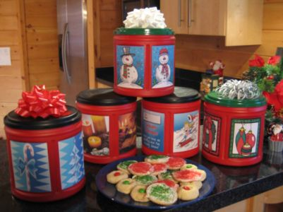 Holiday Coffee Containers