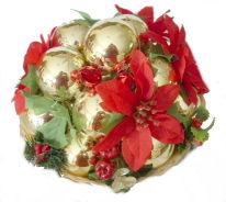 Table Centerpiece – Christmas Balls