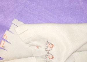 No Sew Blanket