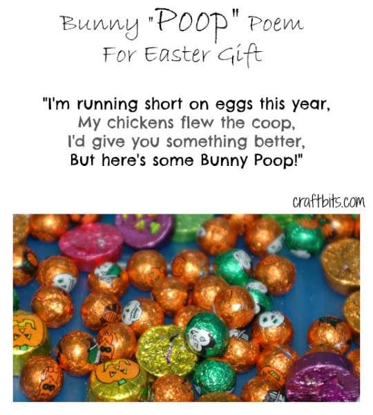 Easter Bunny Poop