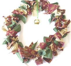 Wreath: Fabric Swatch