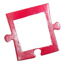 Puzzle Photo Magnet