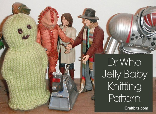 Knitting Pattern For Jelly Babies : Charity Pattern: Dr Who Jelly Baby - Knitting Patterns - craftbits.com