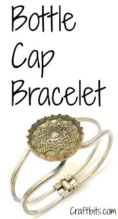 Resin Bottle Cap Bracelet