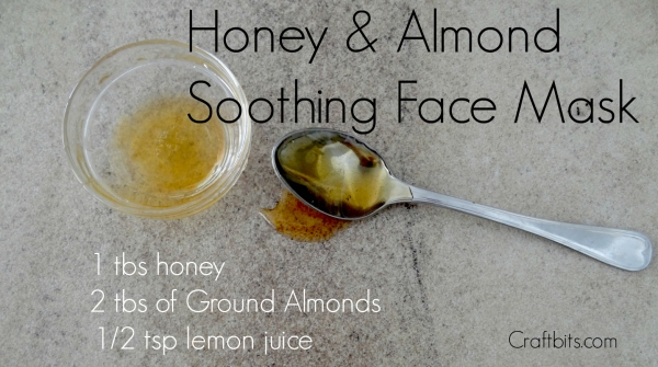 Face Mask – Honey & Almond