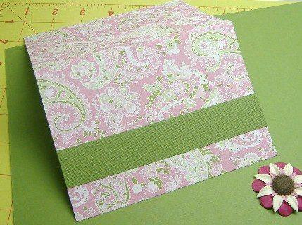 Celebrate Card in Pink