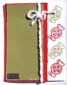 Christmas Card Idea: Believe Tag