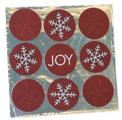 Christmas Card Idea: Silver Foil
