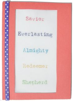Christian Savior Card