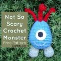 Amigurumi Crochet: Not So Scary Monster