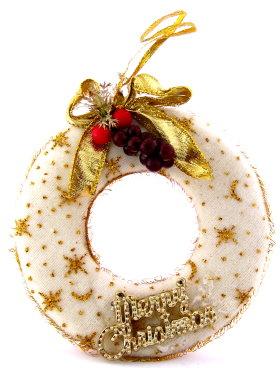 Modern Chic Christmas Wreath