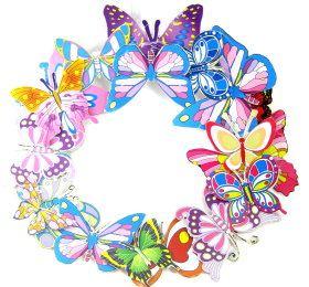 Wreath – Butterflies